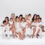 Les Kardashian : North, Stormi et leurs cousins, stars de la carte de Noël