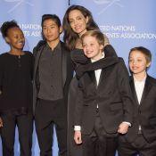 """Angelina Jolie, fière de ses six enfants : """"Ils ont tous un petit côté rebelle"""""""