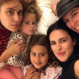 Rumer Willis avec ses soeurs Scout LaRue, Evelyn, Mabel et Tallulah le 1er janvier 2019.