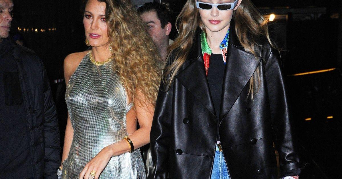 Gigi Hadid et Blake Lively quittent au défilé de mode