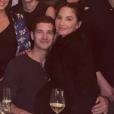 Olivia Munn a célébré le Nouvel An avec son nouveau chéri Tucker Roberts au domicile de Scooter Braun et de son épouse Yael Cohen. Janvier 2019.