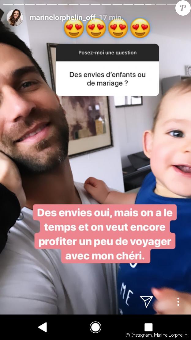 Marine Lorphelin répond aux questions des internautes sur Instagram, 5 janvier 2019