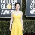 Rachel Brosnahan - Photocall de la 76ème cérémonie annuelle des Golden Globe Awards au Beverly Hilton Hotel à Los Angeles, le 6 janvier 2019.
