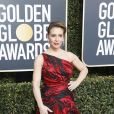 Alyssa Milano - Photocall de la 76ème cérémonie annuelle des Golden Globe Awards au Beverly Hilton Hotel à Los Angeles, le 6 janvier 2019.
