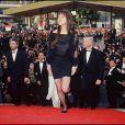Charlotte Gainsbourg présente Le Soleil même la nuit à Cannes en 1990