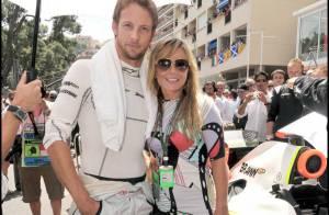 Jenson Button : entre sa ravissante Jessica et une Geri Halliwell ultra glamour, le champion est servi !