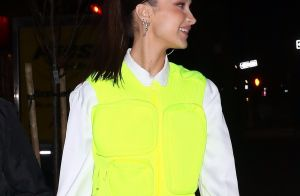 Bella Hadid : En gilet jaune, le top model illumine la nuit new-yorkaise