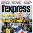 Magazine L'Express en kiosques le 16 janvier 2019.