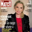 "Véronique Sanson en couverture du magazine ""Paris Match"" en kiosque le 17 janvier 2019"