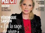 """Véronique Sanson face au cancer : """"J'ai peur mais je vais donner le meilleur"""""""