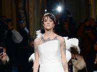 Asia Argento mannequin surprise à la Fashion Week : Amanda Lear épatée