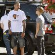 Justin Bieber et Chris Brown en 2011 à Los Angeles.