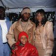 DMX en famille à New York. Mars 2001.
