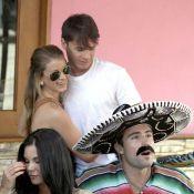 Brody Jenner chouchouté par sa playmate lors de l'anniversaire de Frankie Delgado de The Hills !