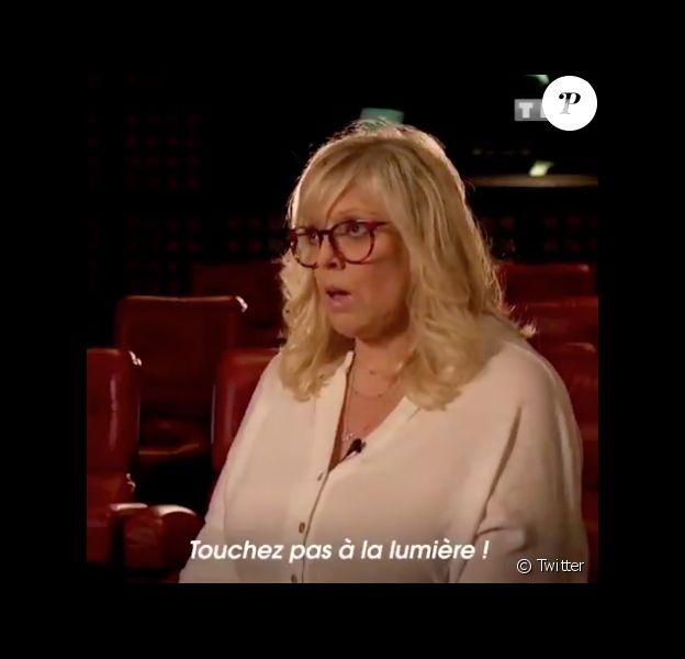 """Laurence Boccolini dans un sketch très réussi pour """"Le Grand concours"""" sur TF1."""