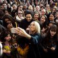 Exclusif - Bilal Hassani, le représentant de la France à l'Eurovision 2019, rencontre ses fans au centre Cultura de Bègles près de Bordeaux, le 2 février 2019. © Bernard-Nadeau/Bestimage