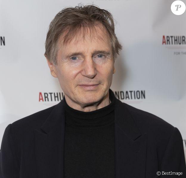 """Liam Neeson - People à la soirée de gala """"2018 Arthur Miller Foundation Honors"""" à New York. Le 22 octobre 2018."""