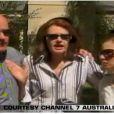 La famille de Heath Ledger: Kim, son père, Sally sa mère, et Kate, sa grande soeur.