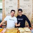"""Abdel Alaoui, l'un des chefs cuisinier dans """"C à vous"""" (France 5)."""
