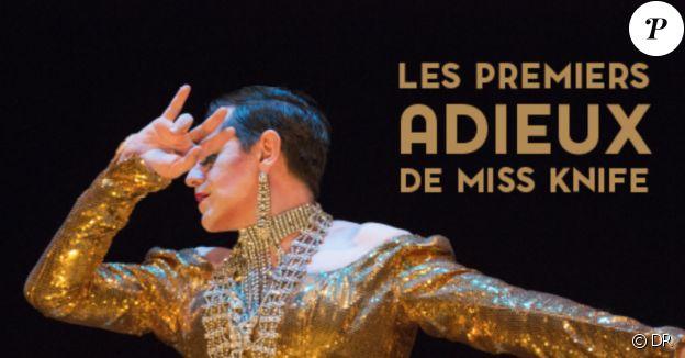 """Olivier Py a présenté """"Les Premiers Adieux de Miss Knife"""" au Théatre de l'Oeuvre en 2018 à Paris."""