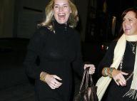 Rebecca Romijn entre le noir et le blanc, elle a du mal à choisir !