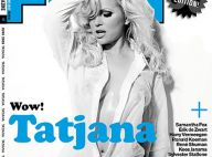 La bombe Tatjana Simic, 46 ans... une chemise ouverte sur son corps de rêve et rien d'autre !