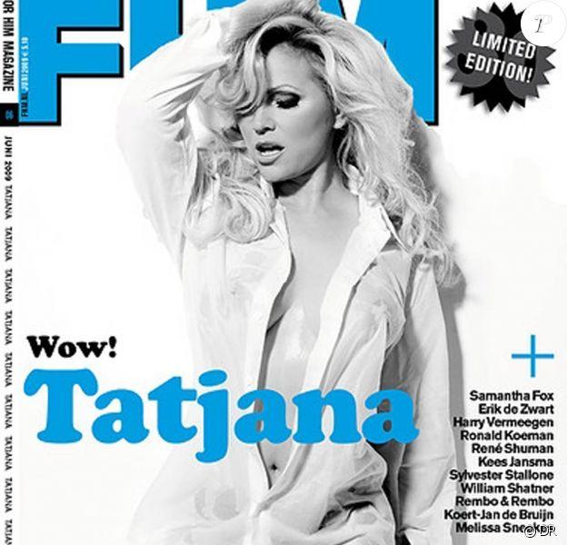 Tatjana Simic... en couverture de FHM à 46 ans !