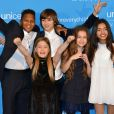 Kids United - Soirée de gala des 70 ans de l'UNICEF à New York le 12 décembre 2016.