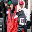 Justin Bieber et sa femme H. Baldwin-Bieber sont allés déjeuner au restaurant The Dutch à New York. Le 28 janvier 2019