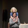 """Pierre Palmade, Catherine Hiegel - Filage de la pièce """"Le lien"""" au théâtre Montparnasse à Paris le 15 janvier 2019. © Coadic Guirec/Bestimage    ©Coadic Guirec / BestImage"""