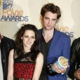 L'équipe de Twilight au MTV Movie Awards 2009, à Los Angeles, le 31 mai 2009