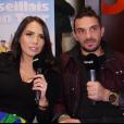 """Julien Tanti et Manon Marsault en interview pour """"Purepeople"""" - 13 février 2019"""
