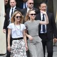 """Vanessa Paradis et sa fille Lily-Rose Depp - Sorties du défilé de mode """"Chanel"""", collection Haute-Couture automne-hiver 2018/2019, à Paris. Le 3 juillet 2018 © CVS-Veeren / Bestimage"""