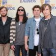 Le groupe Kings of Leon aux MTV Movie Awards le 31 mai 2009