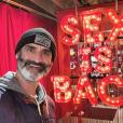 Brody Stevens, photo Instagram du 20 février 2019. L'artiste comique est mort à 48 ans le 22 février 2019, retrouvé pendu à Los Angeles.