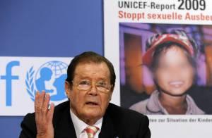 Roger Moore : le 007 ne tue plus ! Désormais il protège les enfants victimes d'abus sexuels...
