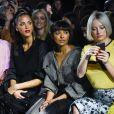 """Noémie Lenoir, Kat Graham et Caroline Vreeland - Défilé de mode Prêt-à-Porter automne-hiver 2019/2020 """"Rochas"""" à Paris. Le 27 février 2019."""