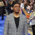 """Samuel L. Jackson à la première de """"Captain Marvel"""" au cinéma Curzon Mayfair à Londres, le 27 février 2019"""