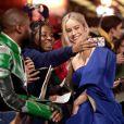 """Brie Larson à la première de """"Captain Marvel"""" au cinéma Curzon Mayfair à Londres, le 27 février 2019."""
