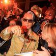 "Kenzo Takada et Ruth Obadia pendant la soirée ""Kenzo Takada's Birthday Night"" pour fêter les 80 ans de Kenzo Takada au Pavillon Ledoyen à Paris, France, le 28 février 2019. © Philippe Baldini/Bestimage"
