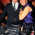 """Guy Cuevas et DJ Ariel Wizman pendant la soirée """"Kenzo Takada's Birthday Night"""" pour fêter les 80 ans de Kenzo Takada au Pavillon Ledoyen à Paris, France, le 28 février 2019. © Philippe Baldini/Bestimage"""
