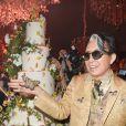 "Kenzo Takada pendant la soirée ""Kenzo Takada's Birthday Night"" pour fêter les 80 ans de Kenzo Takada au Pavillon Ledoyen à Paris, France, le 28 février 2019. © Coadic Guirec/Bestimage"