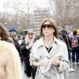 """Carine Roitfeld - Arrivées au défilé de mode Prêt-à-Porter automne-hiver 2019/2020 """"Balmain"""" à Paris. Le 1er mars 2019 © Veeren-CVS / Bestimage"""