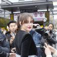 """Shailene Woodley - Arrivées au défilé de mode Prêt-à-Porter automne-hiver 2019/2020 """"Balmain"""" à Paris. Le 1er mars 2019 © Veeren-CVS / Bestimage"""
