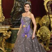 Letizia d'Espagne : Etourdissante dans sa robe du mariage de Kate Middleton