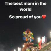 """Cathy Guetta défile au carnaval de Rio, son fils Elvis très """"fier"""""""