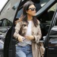 Kourtney Kardashian - Exclusif - Les Kardashians arrivent en famille à la messe dominicale à Calabasas. Le 3 mars 2019