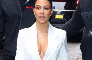 Kourtney Kardashian pose nue pour un nouveau projet secret