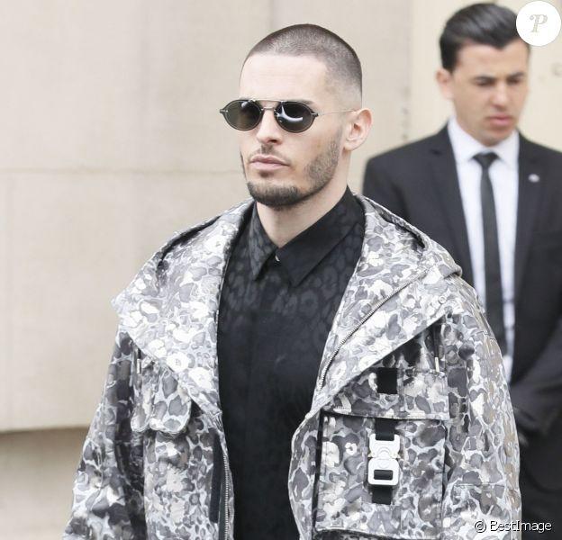 """Baptiste Giabiconi - Sorties du défilé de mode Prêt-à-Porter automne-hiver 2019/2020 """"Chanel"""" à Paris le 5 mars 2019. © CVS-Veeren/Bestimage"""