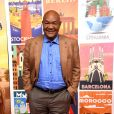 "George Foreman au Photocall de l'émission ""Better Late Than Never"" à Los Angeles le 29 novembre 2017."
